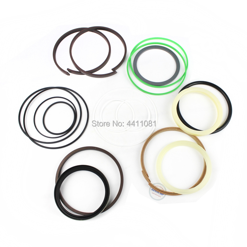 For Komatsu PC230-7 PC230LC-7 Bucket Cylinder Repair Seal Kit 707-99-47570 Excavator Service Gasket, 3 month warranty fits komatsu pc150 3 bucket cylinder repair seal kit excavator service gasket 3 month warranty