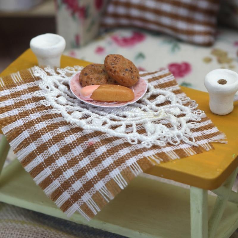 Isla verde té 3D de madera casa de muñecas muebles miniatura - Muñecas y peluches - foto 5