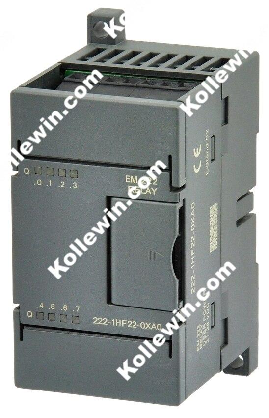 Бесплатная доставка OEM 6ES7222 1HF22 0XA0 цифровой выходной модуль, EM222 8DO, реле, 6ES7 222 1HF22 0XA0 для S7 22X, SIMATIC 6ES72221HF220XA0