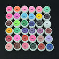 36 Pots Pure Color Nail Polish UV Gel Nail Art Tips Cover Extension 8ml Bio Gel Varnish for Manicure Builder Polish