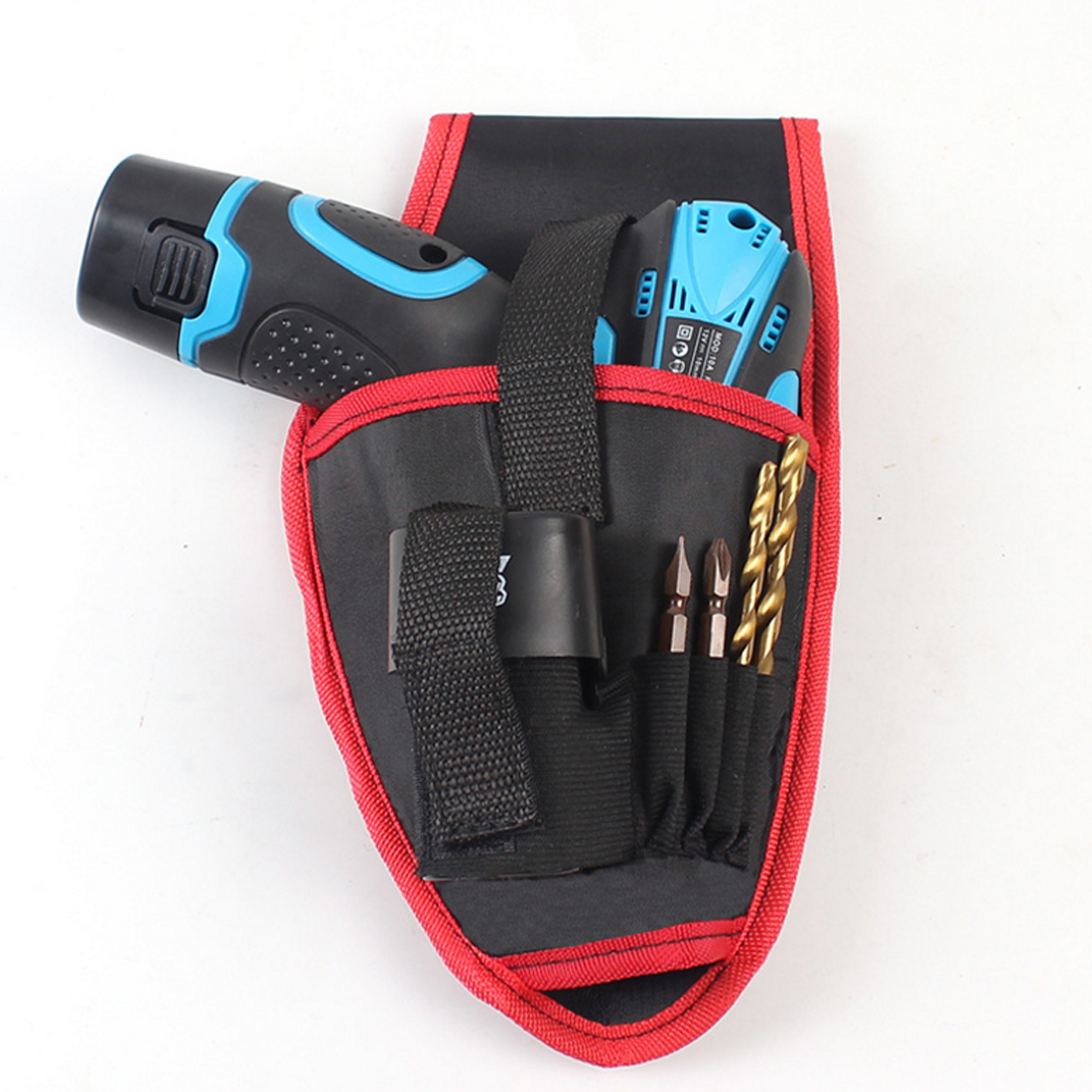 Hand Tools Set Portable Drill Holder Tool Pouch For Drill Screwdriver Waist Tool Belt Bag Cordless Tool Oxford