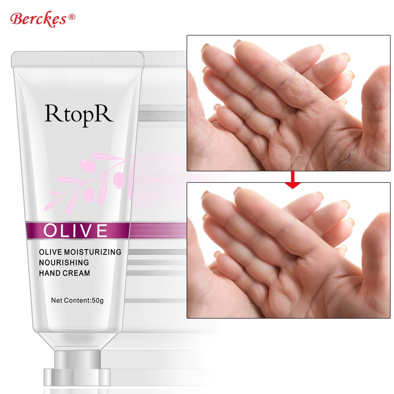 2018 New Olive Oil Serum Hand Cream Repair Nourishing Hand Care Anti Weathering Anti-Aging Moisturizing Whitening Hand Cream купить в Москве 2019