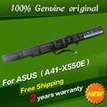 Envío libre a41-x550e batería original del ordenador portátil para asus a450e a450j a450jf f550d k751l x450 x450e x450j x450jf x550dp x750ln
