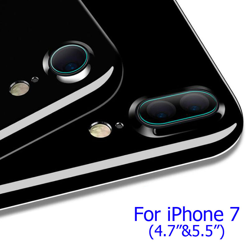 Flim for iPhone 7 Plus Back Camera, High Quality Screen Protector for iPhone X 8 6 6S 7 7plus Protective Flim (Pack of 2 Sets)