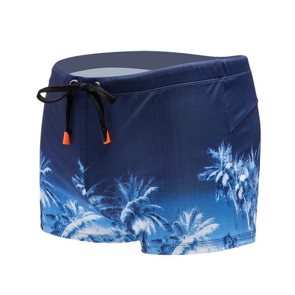 2019 Fashion men Beach sports surfing boxer shorts sexy breathable underwear swim trunks summer swimming trunks shorts 40M28 (1)