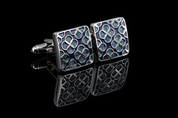 WN Luxury shirt cufflinks for mens Brand cuff button de manchette Colorful cuff links High Quality abotoaduras Jewelry 1