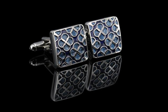 Wn Luxury Shirt Cufflinks Mens Cuff Button De Manchette Colorful Links High Abotoaduras Jewelry