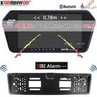 Koorinwoo UE Multimedia 1024 p HD 7 Monitor Dello Specchio di Bluetooth MP5 Video Macchina fotografica di retrovisione Parktronic Cicalino di Allarme sensori - 1