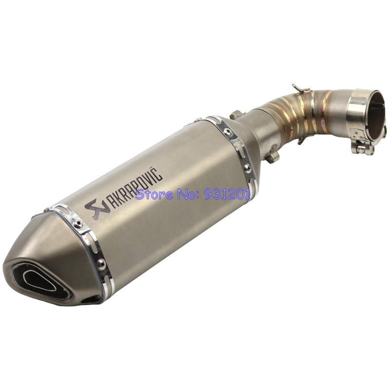 Motorcycle for Honda CB1000R Exhaust Pipe System Link Mid Pipe Connect Pipe with Akrapovic Exhaust Muffler Slip On (2010-2012)Motorcycle for Honda CB1000R Exhaust Pipe System Link Mid Pipe Connect Pipe with Akrapovic Exhaust Muffler Slip On (2010-2012)