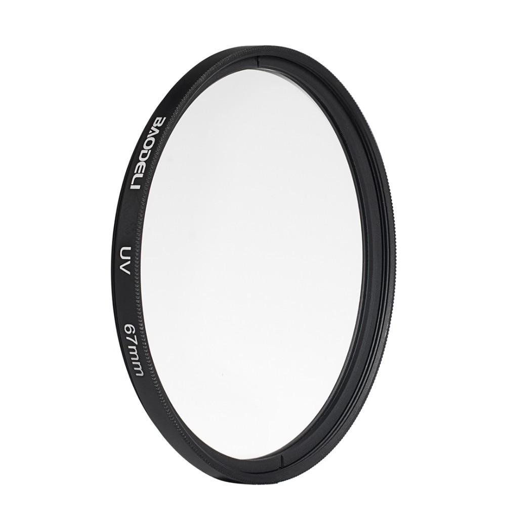 72 BAODELI Dslr Mrc Filtro One Set CONCEPT UV CPL FLD Lens Filter 49 52 55 58 62 67 72 77 82 mm For Camera Cannon Nikon Sony a6000 (4)