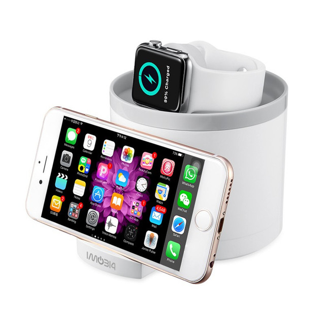 IMO314 Desktop Holder Charging Dock Station Cell Phone And Tablet Stand  Universal For Apple Watch Samsung