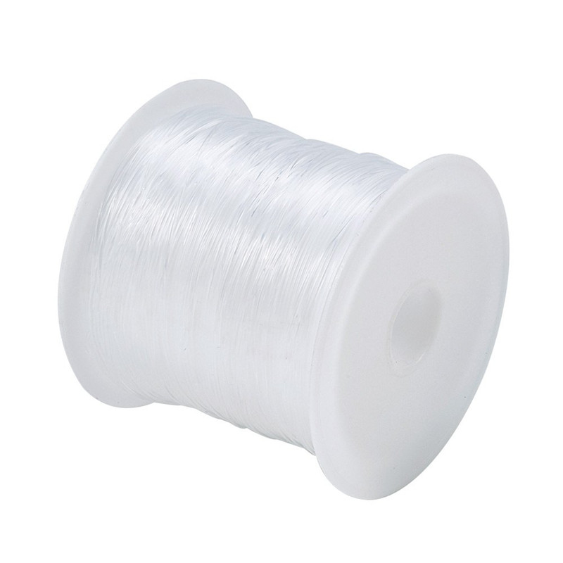 1 рулон, прозрачная нейлоновая рыболовная нить, 0,2/0,25/0,3/0,35/0,4/0,45/0,5/0,6 мм
