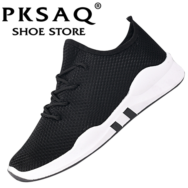 d858abf5434 PKSAQ Spring and summer Popular Men fashion Casual Shoes Breathable Male  2018 sneakers adult Non-slip Comfortable Footwear