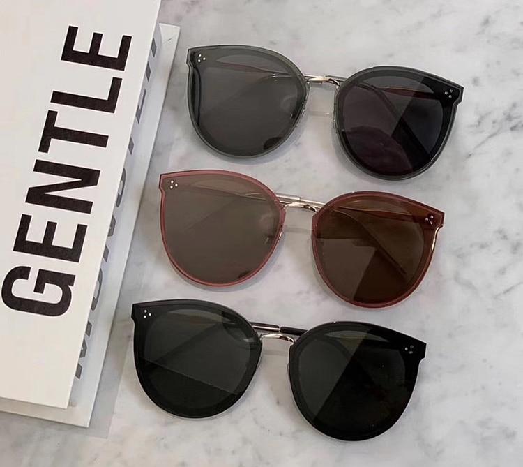 Oversized Sunglasses Women 2019 Round Sunglass Ladies Luxury Brand Gentle Pawpaws Vintage Big Frame Sun Glasses Female