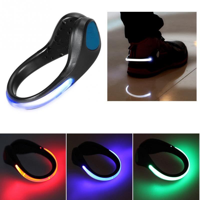 Creatively Shoes LED Outdoor Night Luminous Shoe Clip Light Night Safety Warning Bike Cycling Running Sports Sneakers Lightings