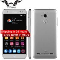 EU Version New Original ZTE Blade V7 lite 4G LTE Mobile Phone 5 inch Quad Core 2GB RAM 16GB ROM Android 13MP Camera Fingerprint