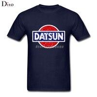 Datsun Logo Áo Sơ Mi Nam Nam Homme Harajuku Trắng Ngắn Tay Áo Tùy Chỉnh Kích Thước Lớn Đội T Áo Sơ Mi