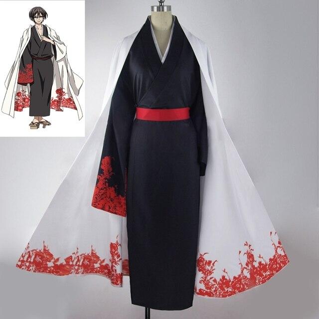 New Anime Servamp Men Cosplay Costumes Tsubaki Cosplay Clothing