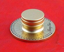 Kaolanhon 60mm com um fino gravado cheio de alumínio amplificador chassi potenciômetro volume botão amplificadores ouro