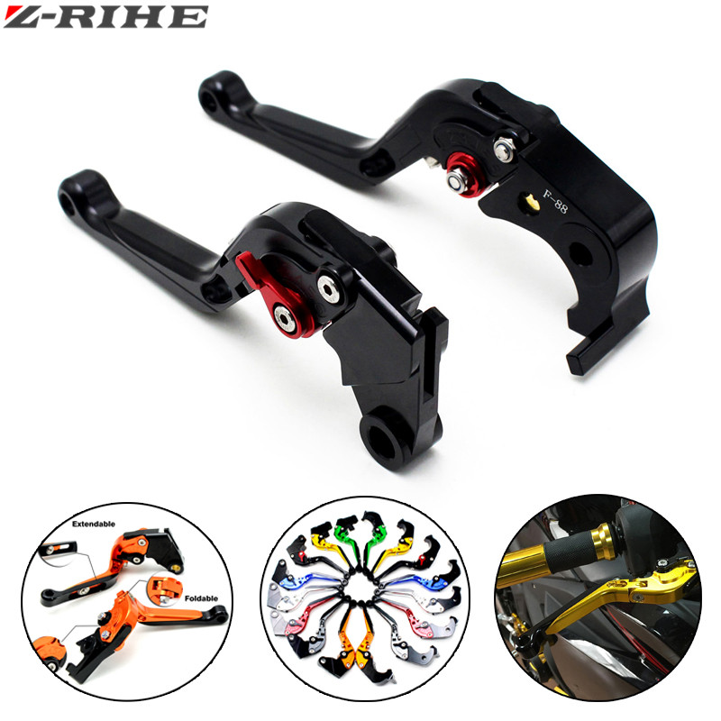 Motorcycle Accessories cnc clutch levers brake for yamaha fz6 make fz6r fz8 / xj6 diversion fz1 make mt-07/fz-07 mt-09/ sr/fZ09 motorcycle adjustable cnc aluminum brakes clutch levers set motorbike brake for yamaha fz1 fazer 2006 2013 xj6 diversion 09 15