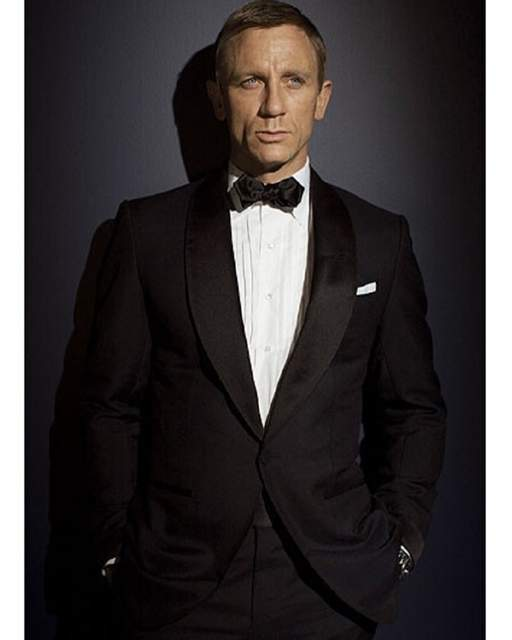 Us 49 27 31 Off Custom Made Black Mens Suits Tuxedo Jacket Men Suit James Bond Dress Wear To Wedding Suit For Men Groom Jacket Pants Bow Tie In