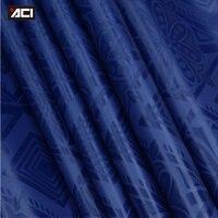ACI-Miễn Phí Vận Chuyển Royal Blue Handmade Ghalila Bazin Riche Guinea Thổ Cẩm Quần Áo Châu Phi Vải 10 Yards Bán Sỉ Bán L