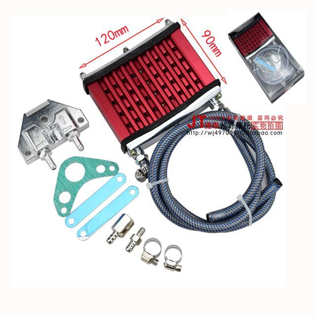 CG CB motorcycle engine radiator oil cooler refires 125cc 140cc 150cc 160cc dirt pit monkey bike Orion xmotos kayo motorcycle