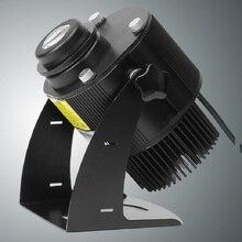 広告ライトプロジェクター防水 IP65 リモートショップモール 15 ワット 20 ワット 30 ワット 40 ワットレストラン歓迎レーザー影デザイン独自のロゴ