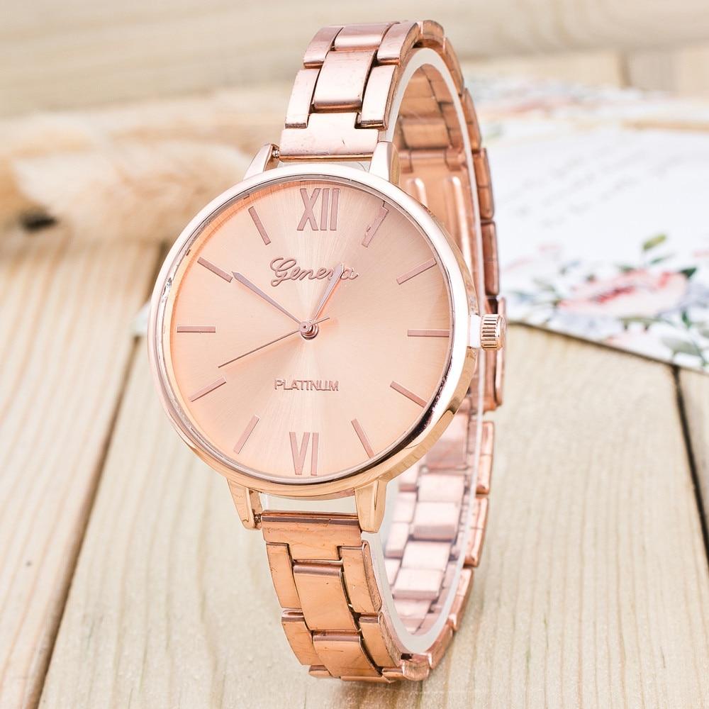 2018 Lady Woman Wrist Watches High Quality Ladies Watches montre femme Geneva Quartz Watch Women Clock reloj mujer Elegant цена