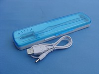 Top Sell Portable Good Quality UV C Light Toothbrush Sanitizer Box Case Container
