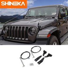 SHINEKA Protective Frames For Jeep Wrnagler JL Accessories 2018 Obstacle Eliminate Rope Protector Deflect Hanging Branches Brush