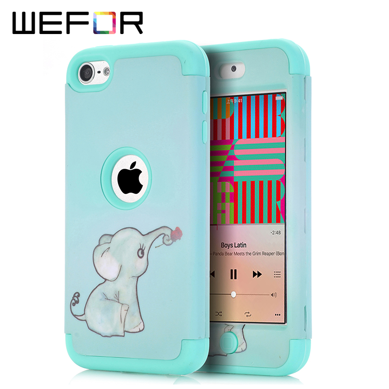 Case Cover For iPod Touch 6 Case Elephant Multi Colors