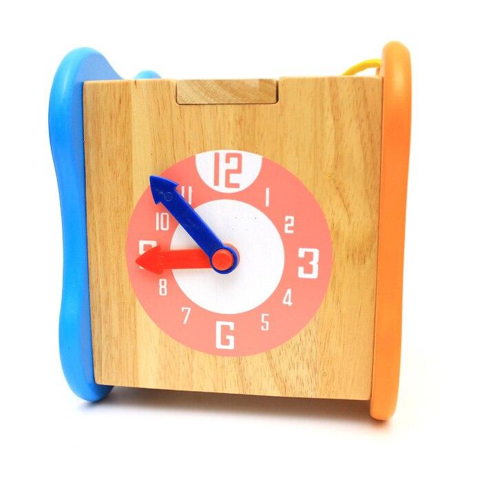 Chanycore bébé apprentissage jouets éducatifs en bois forme géométrique blocs boîte perles horloge tri correspondant ww Montessori cadeaux 4106 - 4