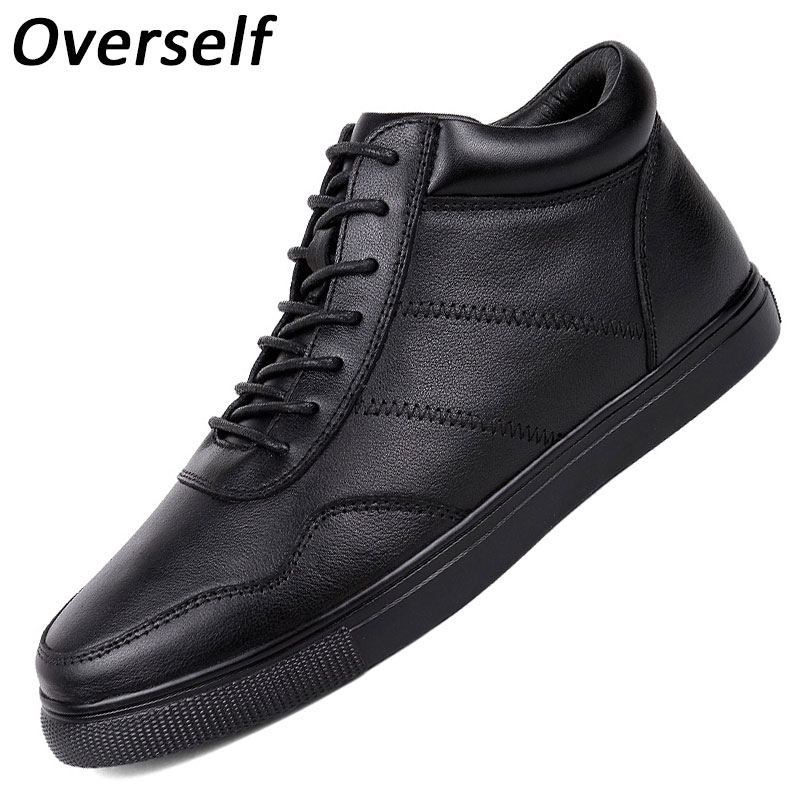men ankle boots snow winter keep warm fur genuine leather footwear fashion work male waterproof for mens shoes big plus size roxdia genuine leather men ankle boots snow winter warm fashion work male waterproof for mens shoes plus size 39 48 rxm051