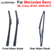 цена на Pair Windscreen Wiper Blades For Mercedes Benz A Class W164 2005-2011,Fit WindshieldRubber Wipers Arm,Car accessories