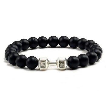 Black Lava Yoga Healin Bracelets6