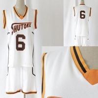Fashion Kuroko No Basuke Basketball Mesh Uniforms Clothes Number 6 10 And Blank Midorima Shintaro Sport