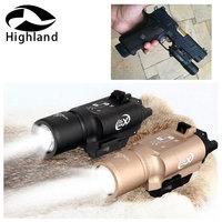 Tactical Glock 1911 Pistol Light X300 Ultra Pistol Gun Light X300U 500 Lumens High Output Weapon Light Lanterna Flashlight