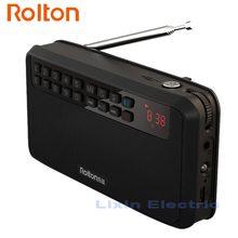 Rolton E500 Portatile Bluetooth Altoparlanti Bass Altoparlante di Sport A Doppio Binario E Stereo Radio FM Della Carta di TF USB MP3 Colonna E torcia elettrica