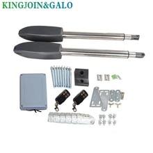 IP55 DC24V/AC110V/AC220V 400 kg yaprak çift otomatik elektrik salıncak kapısı açıcı ev otomasyonu için