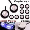 10X Azul de Alta Potência 12 W 23mm 5630 3SMD Car Fog DRL Olho de Águia Luz De Backup
