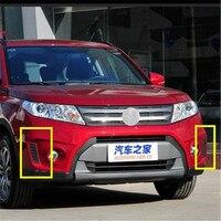 Suzuki Vitara 2015 2016 2017 2018 자동차 스타일링을위한 오리지널 ABS 블랙 커버 주간 주행 등 장식 커버