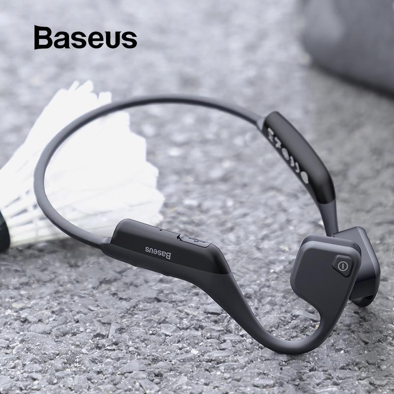 Baseus BC10 Bone Conduction Bluetooth Earphone Outdoor Sport Waterproof Wireless earphone headphones With Skin friendly Material|Bluetooth Earphones & Headphones| |  - AliExpress