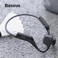 Baseus BC10 Bone Conduction Bluetooth Earphone Outdoor Sport Waterproof Wireless earphone headphones With Skin friendly Material