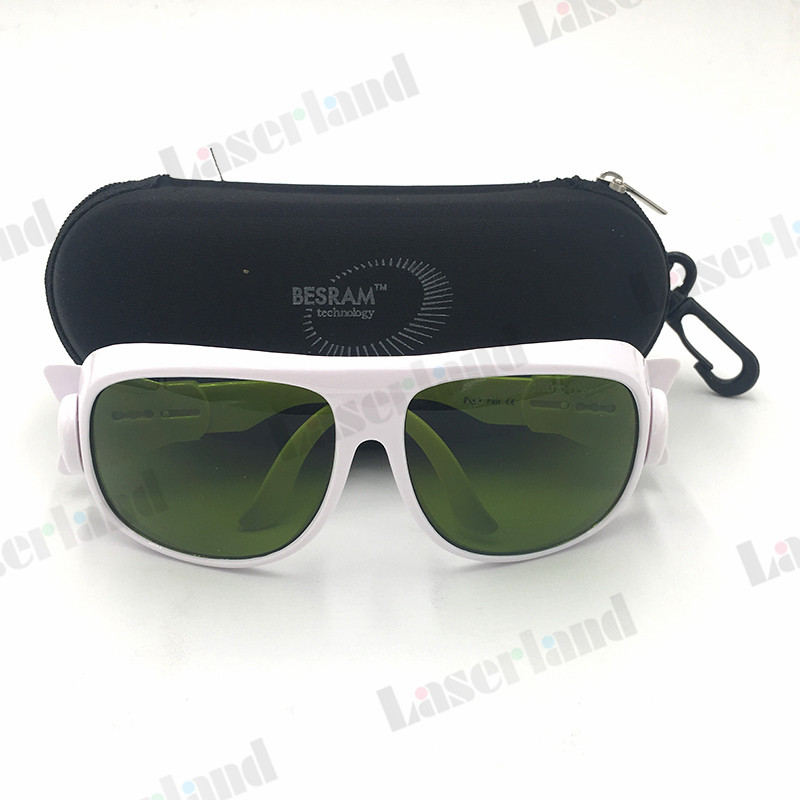 EP-8-1 Laser Glasses Goggles Protection UV 355nm-405nm 850nm-1700nm OD5+ Eyewear CE ep co2 protection laser goggles safety glasses eyewear for 10600nm co2 od5