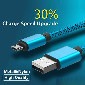 Micro USB 2.0 Data Sync & Fast Charge Cable for LG G4 G3 G Pad 8.3 V500 /10.1 V700 /8.0 V480 V498 /7.0 V400 K3 K4 K5 K7 K8 V10 image