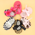 12pairs/lot summer baby toddler first walkers wholesale infant summer shoes leopard zebra patterns available