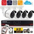 SUNCHAN  4CH 1080N HDMI Motion Detection HD Night Vision 36pc IR LED 960P AHD Camera CCTV Video Surveillance System 1TB