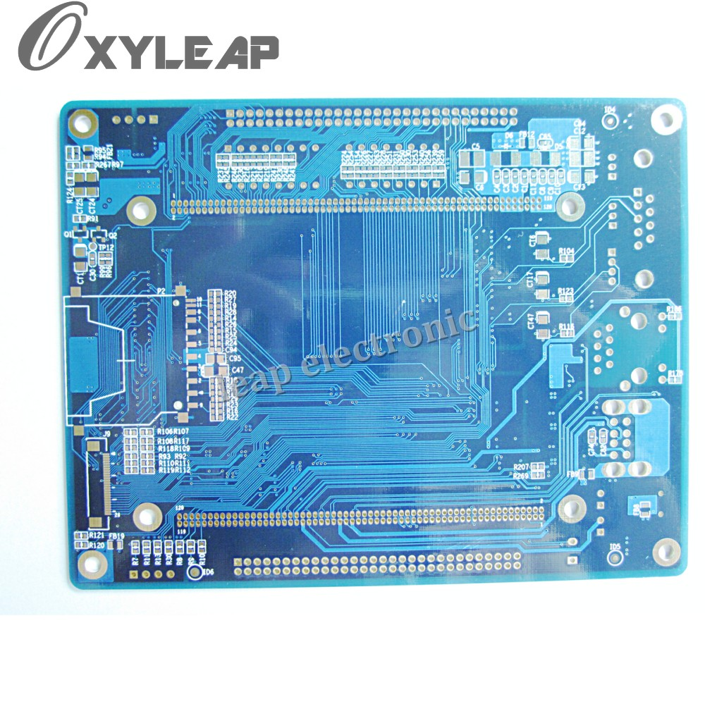 25mm 4 Layer Printed Circuit Boardyellow Soldermask Pcbyellow Boards Motherboard Made In China Buy Pcb Board Designer Glass Fiber