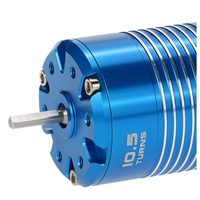 New High Efficiency 540 Sensored Brushless Motor for 1/10 RC Car Blue, 10.5T 3450KV